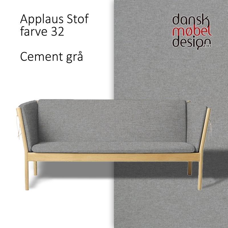 Hynder til 3-pers sofa Erik Ole Jørgensen J148, Applaus Stof